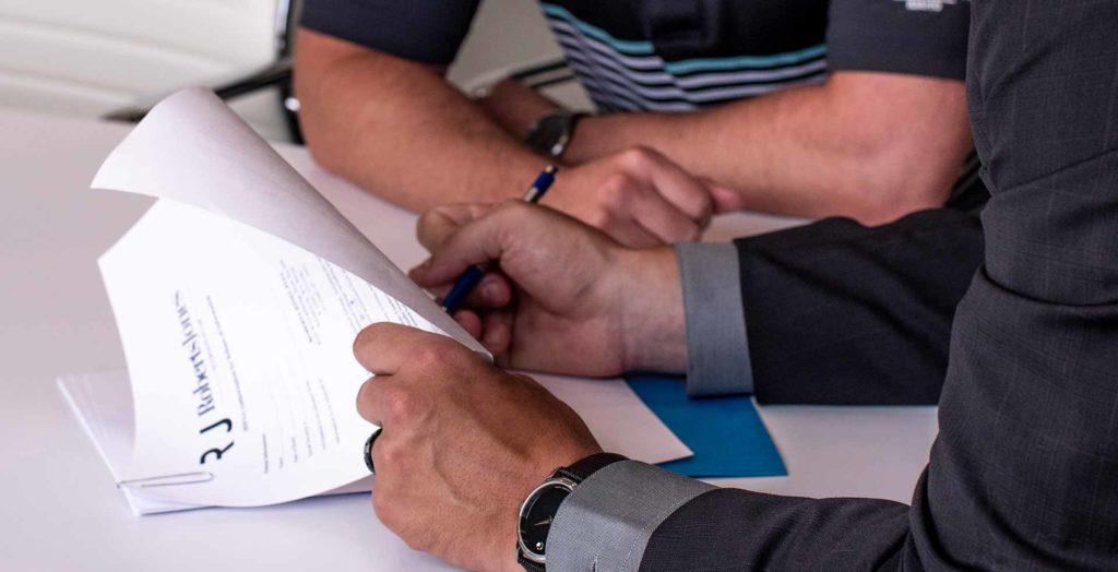 Roberts Jones Law helping client