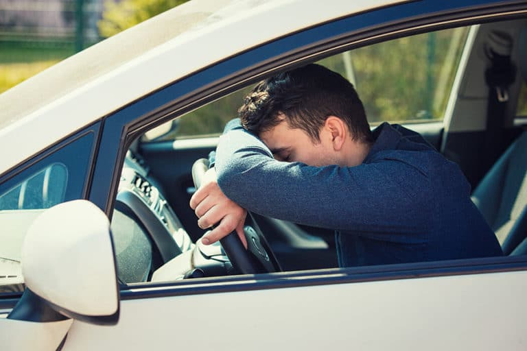 dangers of a drowsy driver